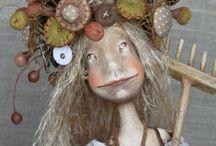 Anna Zueva, art dolls / Russie
