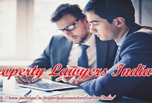 Property Lawyers India / Property Attorneys in India will make ensure the safety and security of your property and related documents.To get the assistance of Property advocates in India go through the link provided http://www.pathlegal.in/propertydocumentverification/India/