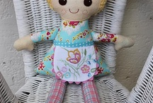All kinds of Dolls & Softies / Cloth dolls and other softies / by Jennifer Martinez