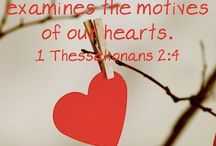 God examines our hearts