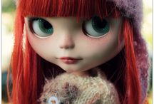 Blythe and Friends / Dollies that make me smile.  / by Mia Church