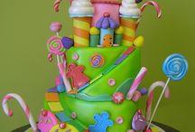 creative, cakes / beautiful cakes