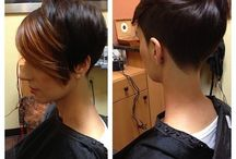 More short hair / by Cre8 SalonandSpa