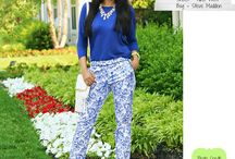 Musterhosen/Printed pants