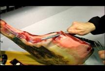 Como cortar una paleta ? ibérica, de Bellota o Serrana / Como cortar un jamón ibérico, de Bellota o Serrano