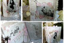 """L'attesa più dolce / """"Album contenitore"""" di foto preziose, fatto a mano da Roshel Weddings & Co.  www.roshel.it"""