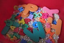 Centers - Sensory / Fun, learning ideas for the elementary classroom. Sensory bins