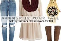 Outfits & Fashion Inspiration