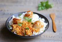 Riz et poisson