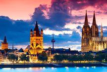 Germany, Switzerland, Belguim & Netherlands