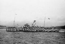 Dazzle Camouflage Ships.