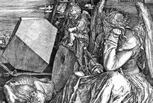 Alberto Durero- Grabados/Dibujos / Alberto Durero (en alemán Albrecht Dürer;1 Núremberg, 21 de mayo de 1471-Núremberg, 6 de abril de 1528)2 es el artista más famoso del Renacimiento alemán, conocido en todo el mundo por sus pinturas, dibujos, grabados y escritos teóricos sobre arte. Ejerció una decisiva influencia en los artistas del siglo XVI, tanto alemanes como de los Países Bajos, y llegó a ser admirado por maestros italianos como Rafael Sanzio.  / by Beatriz Lucero B
