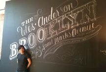 Chalkboard Lettering by others /