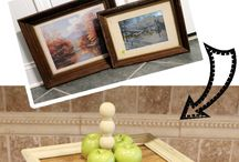 repurpose picture frames