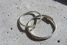 lines arcs . minimalist silver jewellery / Contemporary jewellery - minimalist metal