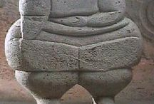 antic sculpture