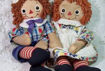 Raggedy Ann and Andy / by Clarinda Nunez