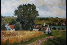 Oil painting - Artist Marcin Jurek