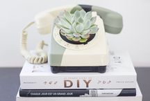Inspirations DIY Green Upcycle / Tutos et DIY qui donnent des envies de verdure chez soi, réalisés avec des objets qu'on pensait bons à être jetés !