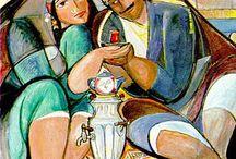 Arabic Art and the world fine art