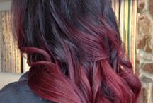 Hairstyle ideas / Hairstyle and -color ideas.. :)
