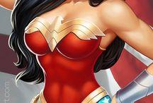 Wonder Woman / Diana Wonder Woman cómic art
