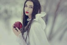 Snow White photoshoot