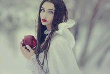 Snow White photoshoot