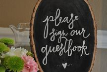 WEDDING SIGNAGE. / Wedding signage, wedding signage ideas and DIY wedding signage inspiration and tips!