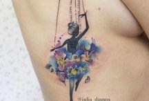 bailarina tattoo