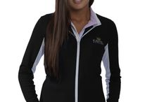 Christine Midweight Jacket / Great as outerwear for many sports such as running, horseback riding, hiking – or just a chilly night on the town. Our polyester/spandex fabric blend  stretches and tastefully hugs the body as you move, making every activity comfortable as the jacket breathes and simultaneously captures warmth. Beautiful styling with contrasting panels and zippers will generate compliments nonstop! Pockets also zip so you always have room to store your devices and other everyday needs.