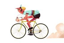 art & bicycle