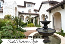 Santa Barbara Style Idea Book / We have tons of Idea Books...this one is Santa Barbara Style.  To request your copy, contact us at www.newhousebuilder.com.