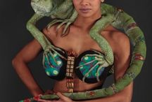 """""""Bling My Bra"""" / bling my bra, supporting breast cancer, World of wearable arts etc."""