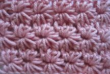 crochet & knitting - stitches