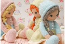Maryjanestearoom Knitted Dolls
