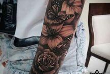 Tatuaż ramię