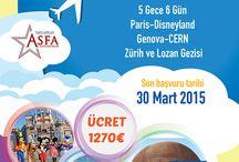 Cern Avrupa Nükleer Araştırma Gezisi / Cern Avrupa Nükleer Araştırma Gezisi