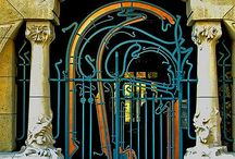 It all starts here / Intricate, pretty & unusual entryways, doors/gates