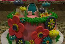 Trolls cakes