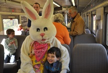 Easter Bunny Events 2013-Tickets on-sale NOW! / Breakfast Buffet with the Easter Bunny and Train Rides with the Easter Bunny were on Friday, March 29 & Saturday, March 30, 2013! Thanks to everyone who attended!