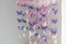 butterfly  / Butterfly chandelier