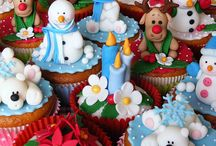 Christmas Baking - Cupcakes, Pops, Cookies And Such!