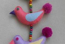 keçeden kuşlar