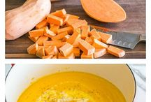 "Recipe Ideas: Yams / Sweet Potatoes / Each week I play ""What's this Wednesday"" with my community.  We share our favourite ways to eat a healthy food - because we all could use some kitchen inspiration! #healthy #recipes for #yam #yams #sweet potato Join us: http//KristenYarker.com/blog"