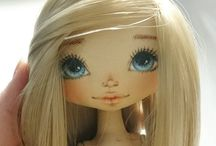 лицо куклв