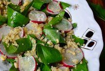 Quinoa, naut,  cus-cus, mei