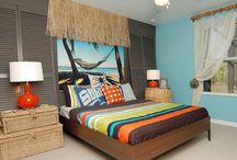 Idées pour chambre tropical