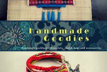 Homemade Goodies / Handmade necklaces, bracelets, clutch bags and accessories.
