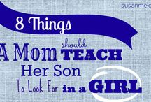 Things to share with my son one day... / by Carla Truett